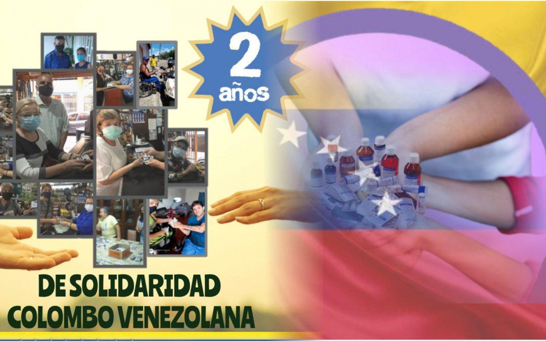 2 AÑOS DE SOLIDARIDAD COLOMBO VENEZOLANA