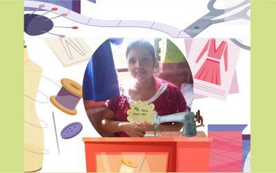 Una mujer virtuosa y perseverante, esa es Sandra Garcés.