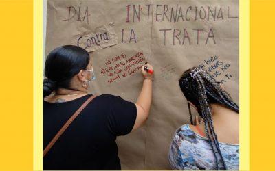 Prevención y sensibilización frente a la Trata de personas, acciones enmarcadas en el respeto de los Derechos Humanos